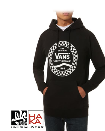 Vans Checkered Side Stripe Black haka shop