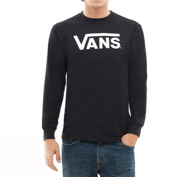 Vans Classic Ls Black White haka shop