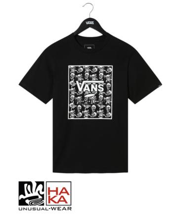 Vans Glow In The Dark Skulls Print Bx Black Skulls haka shop