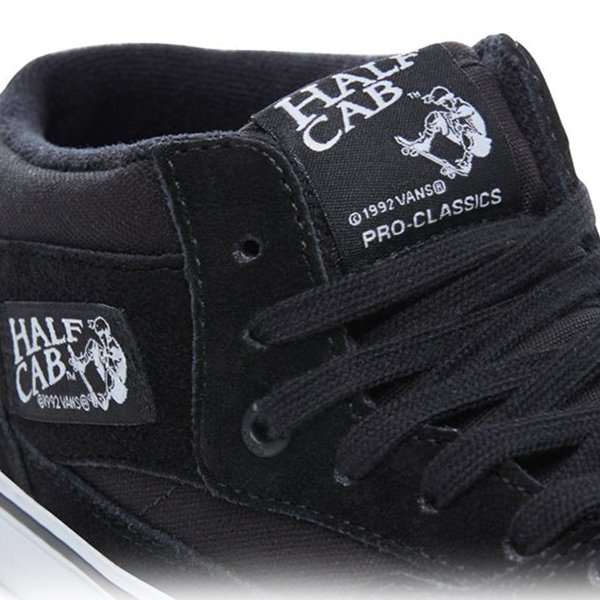 Vans Half Cab Pro Black White haka shop
