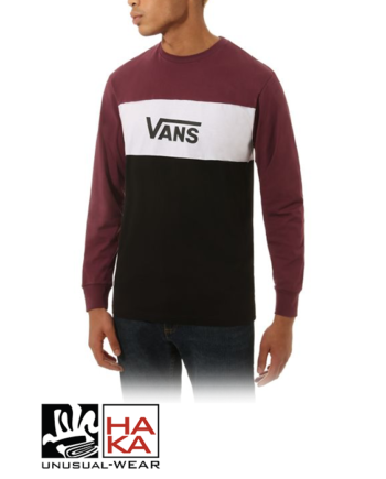 Vans Retro Active Ls Black Prune haka shop