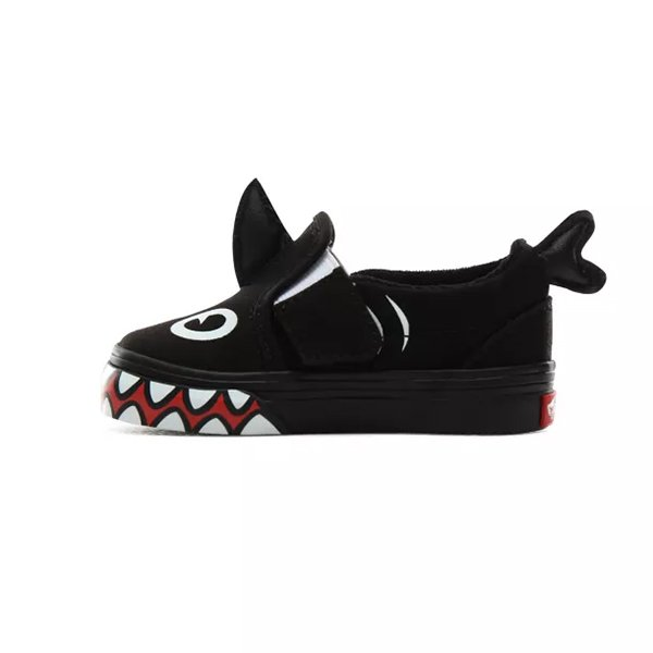 Vans X Shark V Week Slip on Shark Week Phin Black haka shop