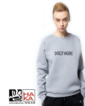 Dolly Noire Capital Crewneck Grey haka shop