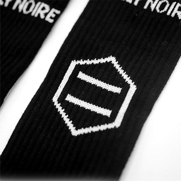 Dolly Noire Logo Black socks haka shop