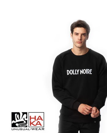 Dolly Noire Logo Capital Black haka shop