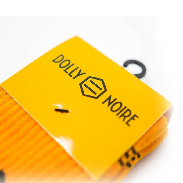 Dolly Noire Logo Yellow haka shop