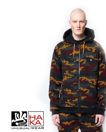 Dolly Noire Warmer Zip Camo haka shop