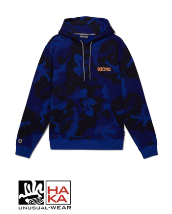 Octopus Camo Royal Blue haka shop