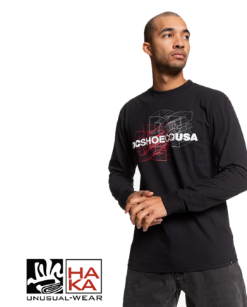 Dc Shoes Double Dimension Ls Black haka shop