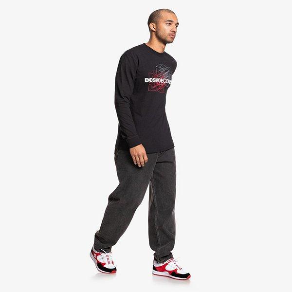 Dc Shoes Double Dimension Ls Black haka shop