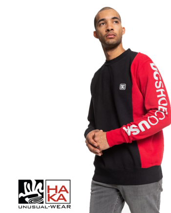 Dc Shoes Wepma Crew Black Racing Red haka shop