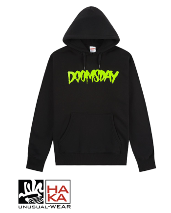 Doomsday Society Logo Black Neon haka shop