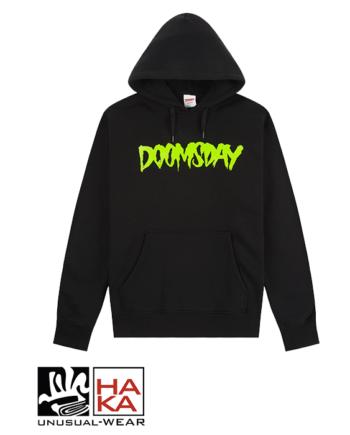 Doomsday Society Logo Black Neon haka shop