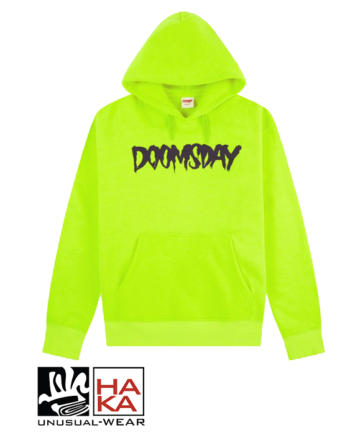 Doomsday Society Logo Neon Wine haka shop