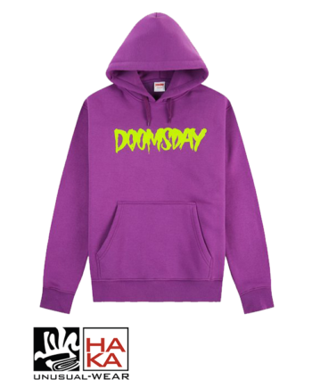 Doomsday Society Logo Wine Neon haka shop