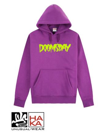 Doomsday Society Logo Wine Neon haka shop