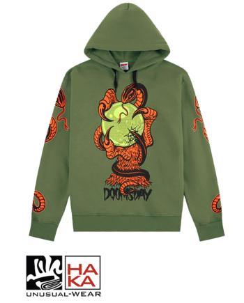Doomsday Society Omen Army Green haka shop
