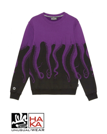 Octopus Logo Black Purple haka shop