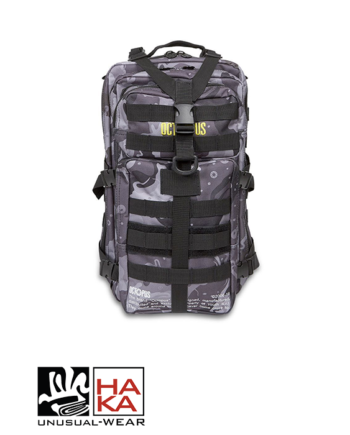 Octopus Utility Backpack Camo Black haka shop