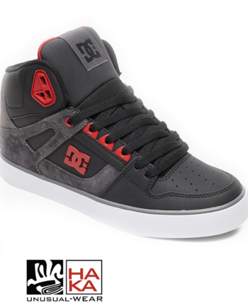Dc Shoes Pure High Top Wc Se Black Red haka shop