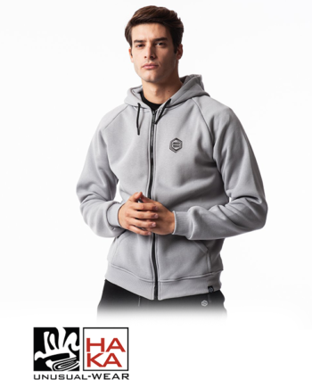 Dolly Noire Black Bear Zip Grey haka shop