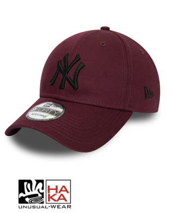 New Era Essential New York Yankees bodeaux haka shop