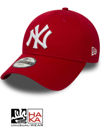 New Era Essential New York Yankees red hakashop