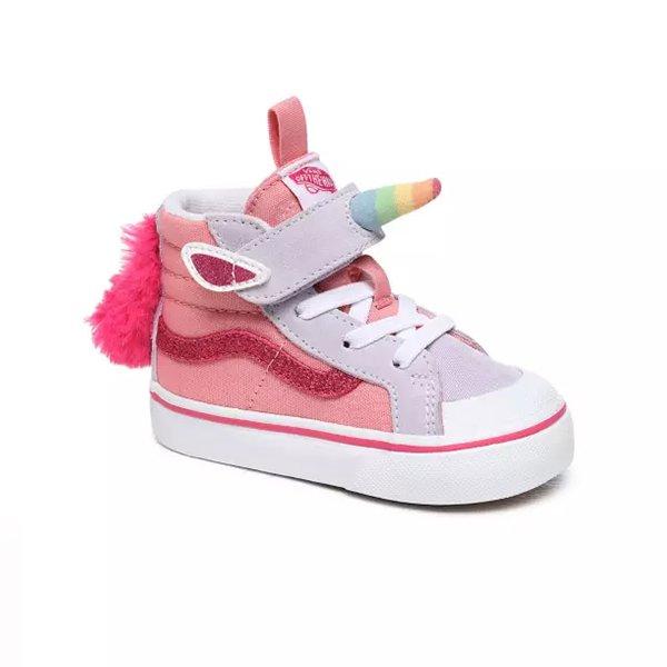 Vans , Unicorn Sk8-Hi Reissue , Pink Icing / Lavender Blue