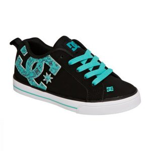Dc Shoes Court Graffik Vulc Se Black Blue Jay haka shop