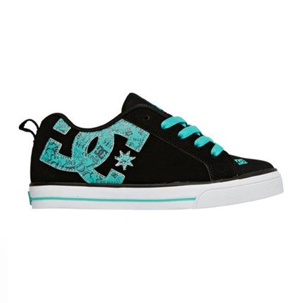 Dc Shoes Court Graffik Vulc Se Black Blue Jay haka shop
