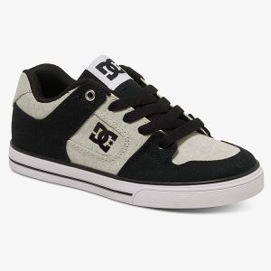 Dc Shoes Pure Tx Se Black White Black haka shop