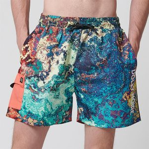 Dolly Noire Waterworld Swimshorts Chemical haka shop