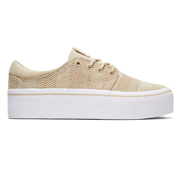 Scarpe Dc Shoes Trase Platform TX SE Taupe haka shop