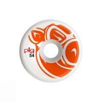 Pig Wheel Team Head Orange C-Line 54mm 101A haka shop