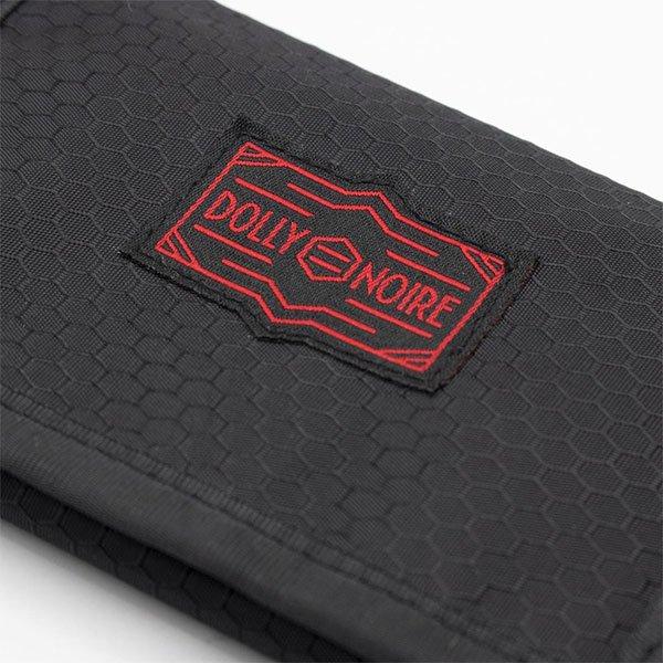 Dolly Noire Wallet Velcro Black haka shop