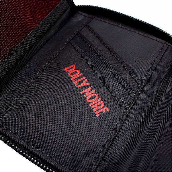 Dolly Noire Wallet Zip Black haka shop
