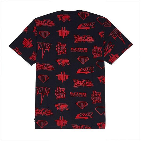 Iuter Horns Allover Black Red haka shop