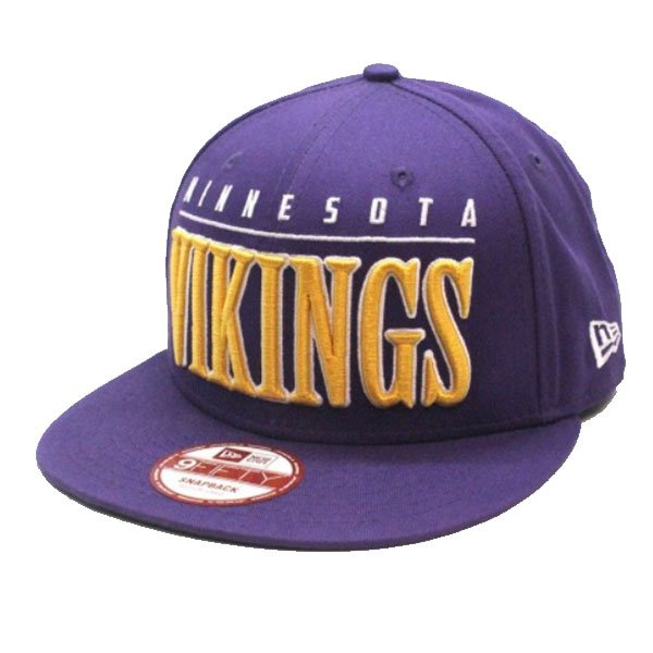 New Era Big Word Nfl Minnesota Vikings Purple haka shop