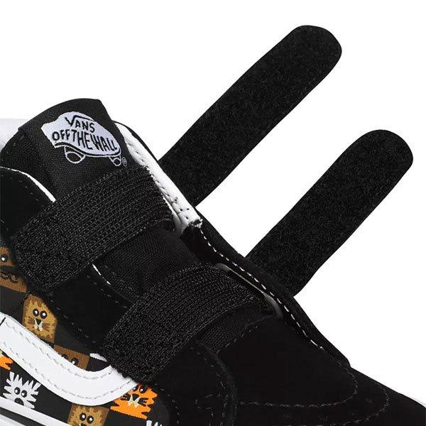 Vans Sk8-Mid Reissue V ( Animal Checkerboard ) Black True White haka shop
