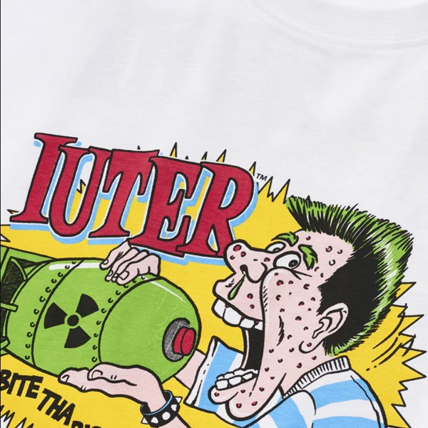 Iuter Atomic Tee White haka shop