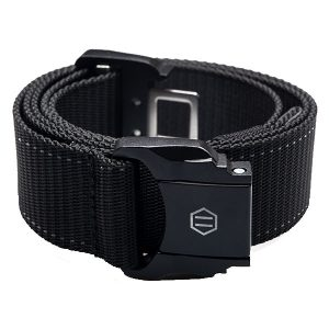 Dolly Noire Minimal Buckle Belt Black haka shop
