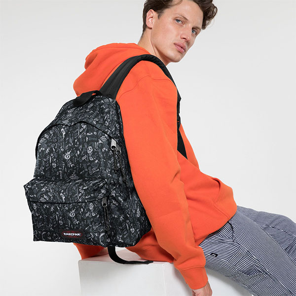 Eastpak Padded Pak'R Scribble Dark haka shop
