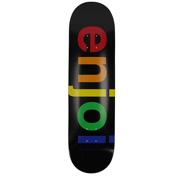 "Enjoi Spectrum Black 8.25"" haka shop"